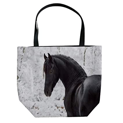 ca429518ec19 Amazon.com: Handbag Canvas Shoulder Bag High-capacityEquestrian ...