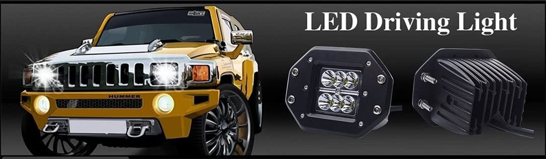 Annisking 10x24w Spot Beam 30 Degree LED Work Light Fog Light Jeep SUV ATV Off-road Truck