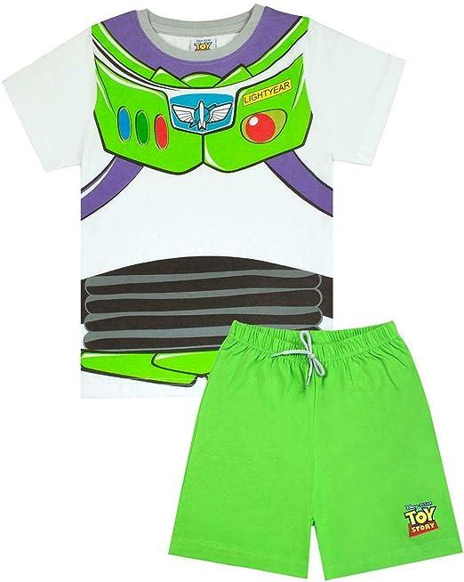 Disney Pixar Toy Story Buzz Lightyear - Pijama corto para niño ...