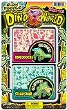JaRu Dino World Glow Fossils Party Favor Bundle