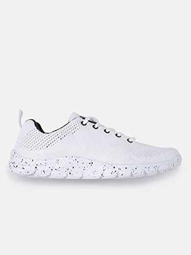 d286a7fc1e4 HRX by Hrithik Roshan Women White Running Shoes (7)  Amazon.in ...