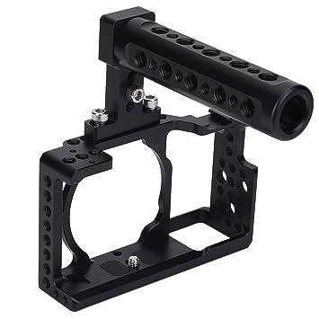 acouto Estabilizador de cámara accesorio Kit de jaula con asa ...