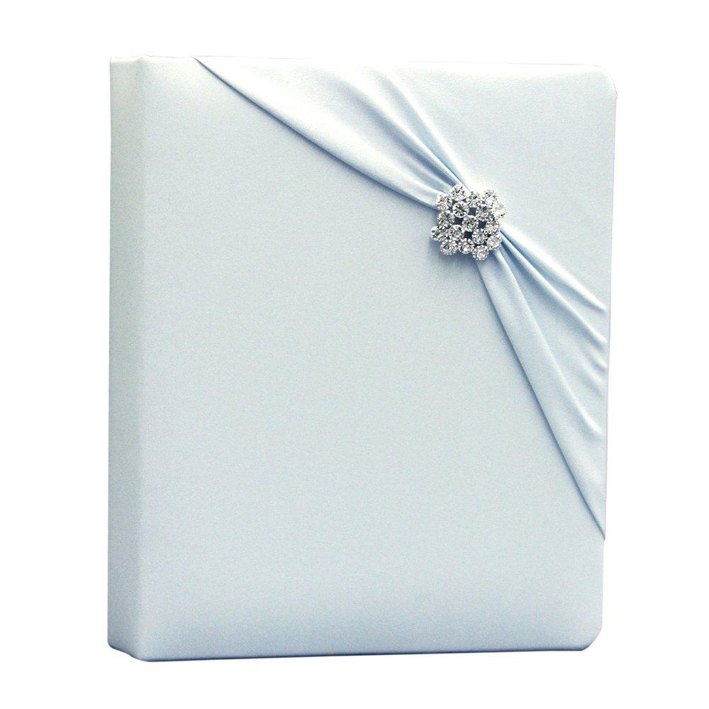 Ivy Lane Design Garbo Collection Wedding Memory Book, Light Blue by Ivy Lane Design