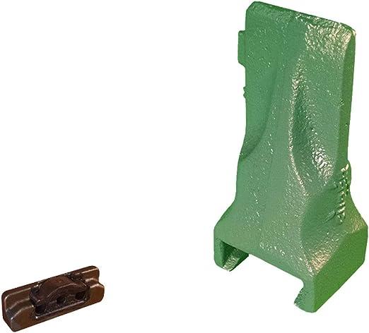 Skid Bucket Dirt Teeth /& Pins Esco Style Super V Mini Excavator V13SYL 8