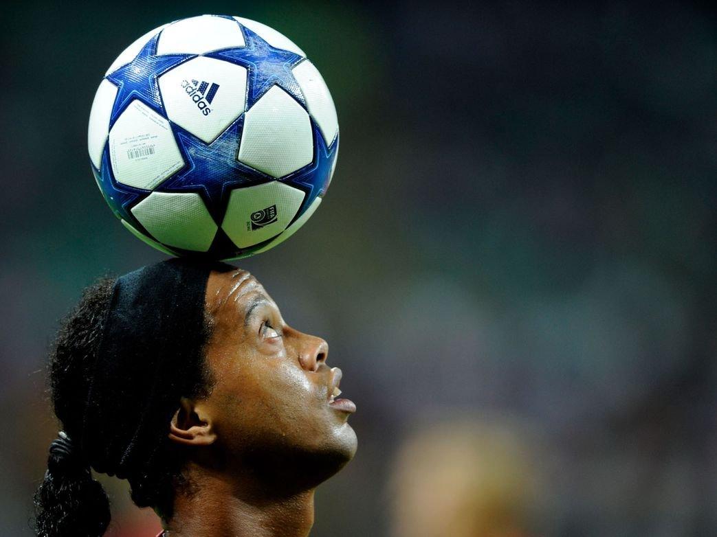 Amazon Com Xxw Artwork Ronaldinho Poster Football Player