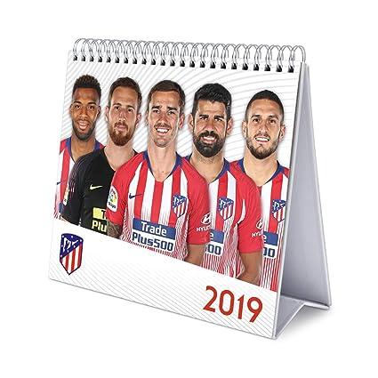 Calendario Atletico Madrid.Grupo Erik Editores Cs19023 Calendario De Sobremesa 2019