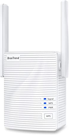 Brostrend 1200 Mbit S Wlan Repeater Wi Fi Amplifier For Computers Accessories