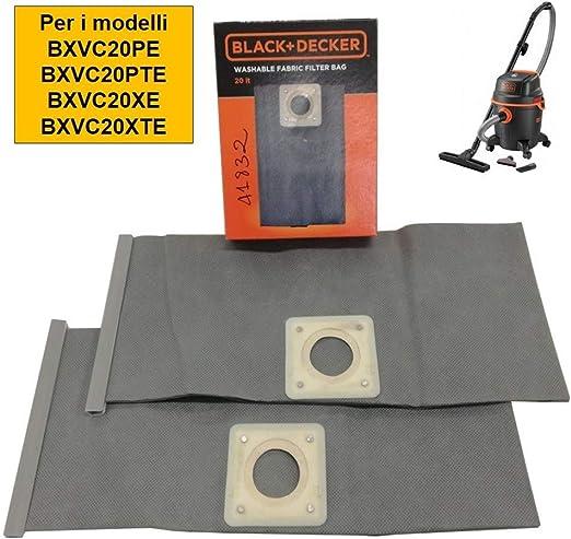 Black Decker bolsas aspiradora 20L: Amazon.es: Hogar