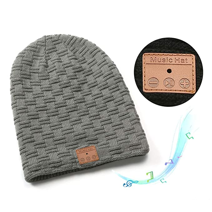 Sombrero Con Auriculares Inalámbricos Bluetooth Para Mujeres Y Hombres Unisex, Gorro De Invierno De Punto