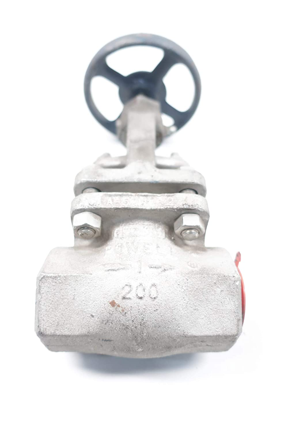 POWELL 2474 Manual 200 Stainless 1IN NPT Globe Valve D660753