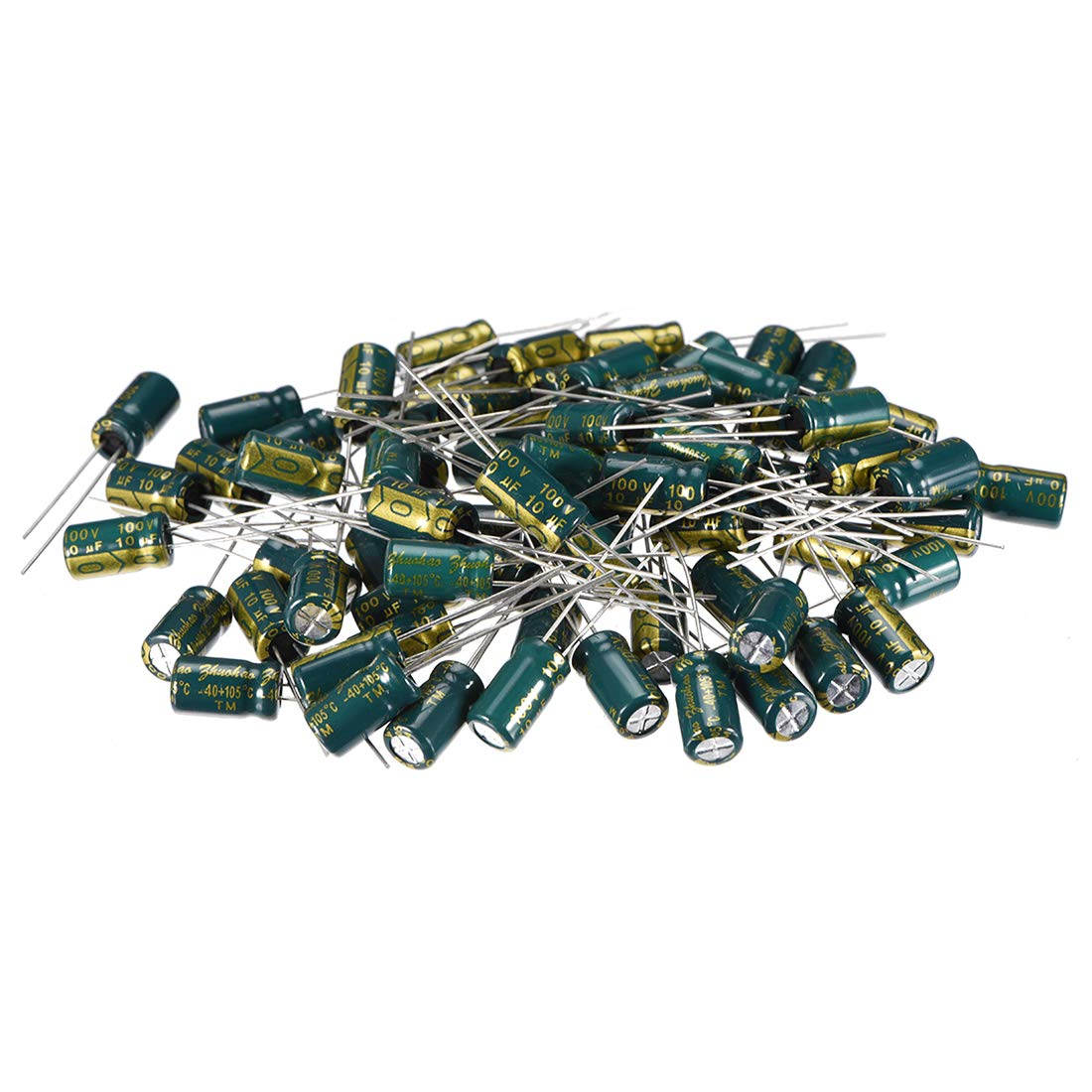 uxcell Safety Capacitors Polypropylene Film 0.15uF 275VAC X2 MKP 10 Pcs