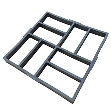 DIY Molde de pavimentación Irregular/Rectangular Concreto, Molde del Fabricante de la Ruta Pavimento