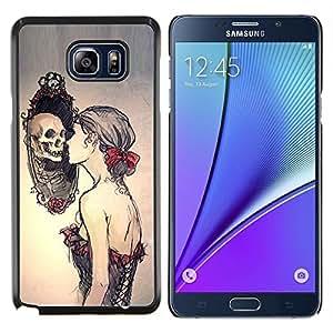 YiPhone /// Prima de resorte delgada de la cubierta del caso de Shell Armor - Espejo profundo Pretty Woman Significado - Samsung Galaxy Note 5 5th N9200