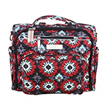 Ju-Ju-Be B.F.F. Convertible Diaper Bag, Sweet Scarlet, Red