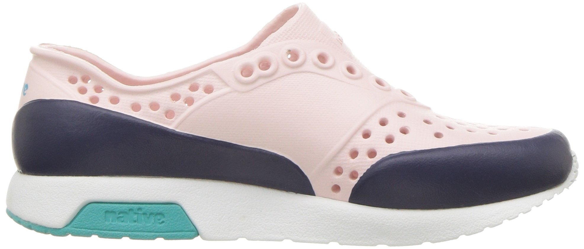 native Kids Unisex-Kids Lennox Block Child Sneaker, Cold Pink/Shell White/Glacier Green/Regatta Blue Block, 13 Medium US Little Kid by native (Image #7)