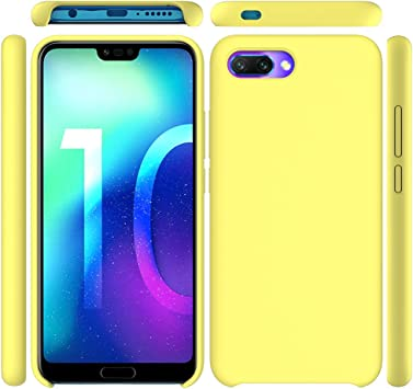 Leton Funda para Huawei Honor 10, Líquido de Silicona Carcasa ...