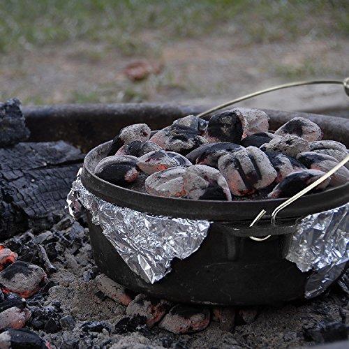 Klarstein Hotrod 45 Olla de Hierro Fundido 4 litros (4,5 qt / 4 L, Tapa hermética, Ideal Cocina sobre Fuego o brasas, óptima distribución Calor, ...