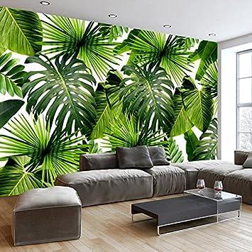 HUANGYAHUI Tropischer Regenwald Pflanzen, Bananenblätter, Große ...