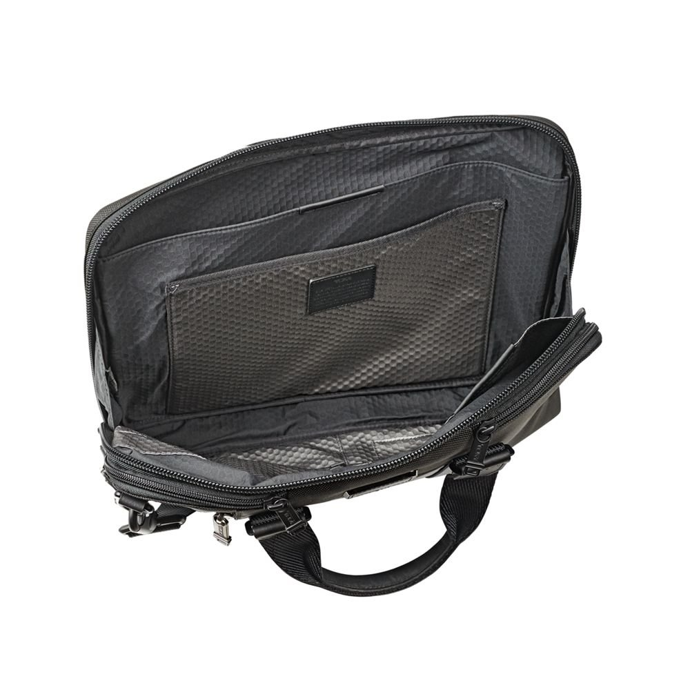 TUMI - Alpha Bravo Aviano Laptop Slim Brief Briefcase - 15 Inch Computer Bag for Men and Women - Black by TUMI (Image #2)