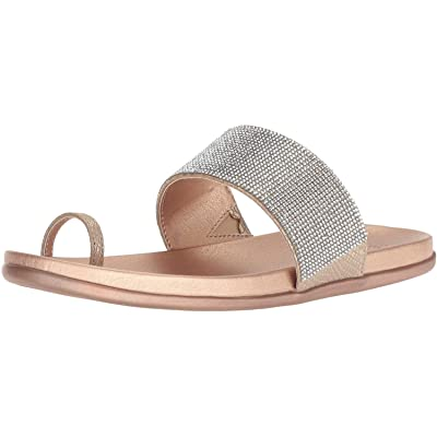 Kenneth Cole REACTION Women's Slim Tracks 2 Toe Loop Flat Sandal | Flats