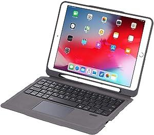 iPad Keyboard Case for iPad 2018 (6th Gen) - iPad 2017 (5th Gen) - iPad Pro 9.7 -iPad Air 2&1 Wireless Bluetooth - iPad Case with Touchpad for iPad from INI
