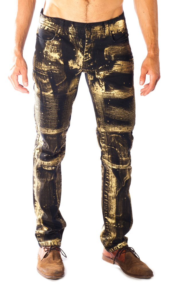 ''Gold Rush'' Barabas Black Men's Jeans 36