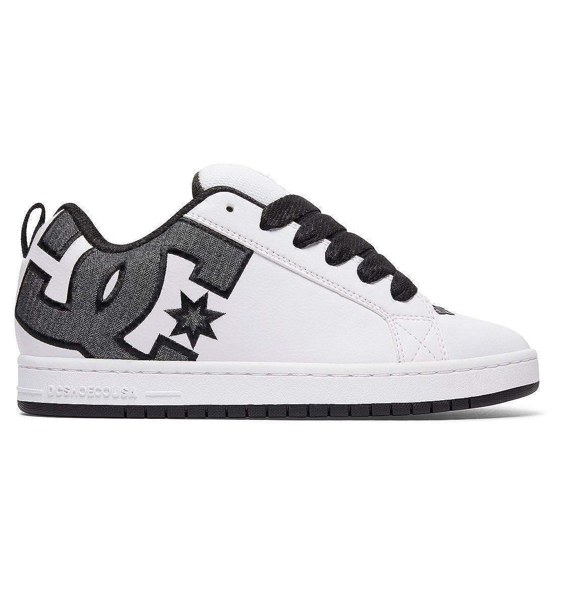 DC Shoes Men's Court Graffik Se Low-Top Sneakers