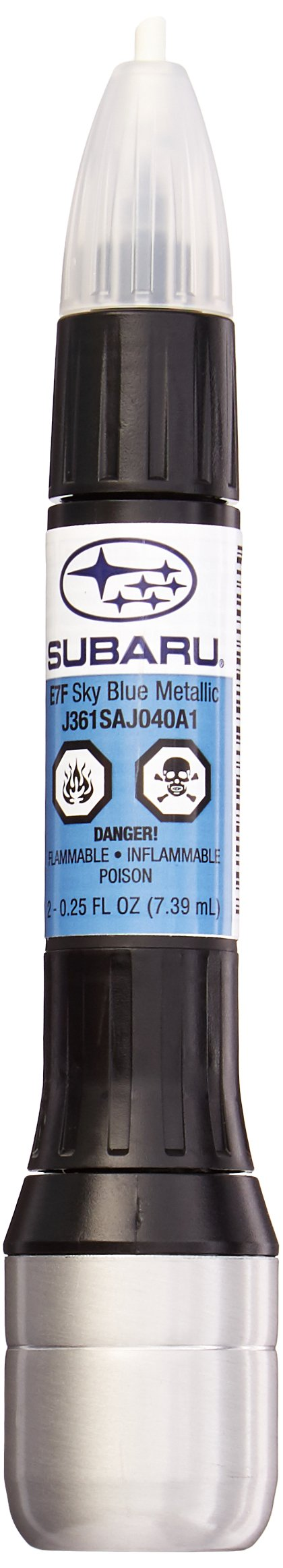 Genuine Subaru J361SAJ040 Touch-Up Paint, Sky Blue Metallic (SB1) E7F, Paint code eh9