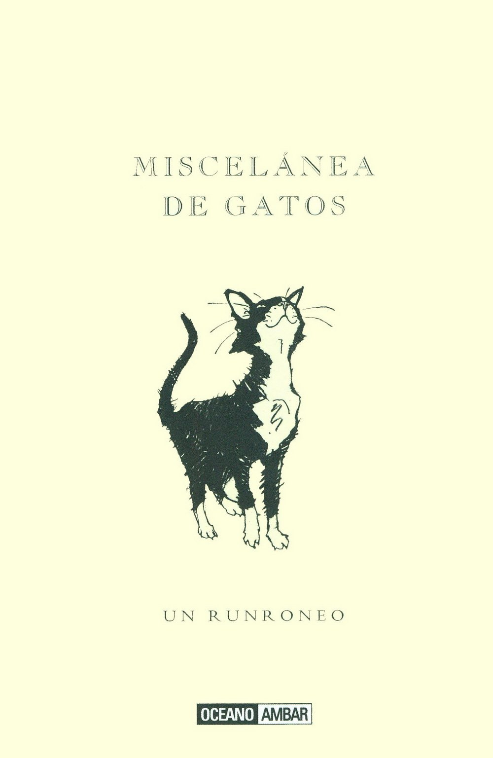 Miscelanea de Gatos: un Runroneo: DARTON MIKE: 9788475562285: Amazon.com: Books
