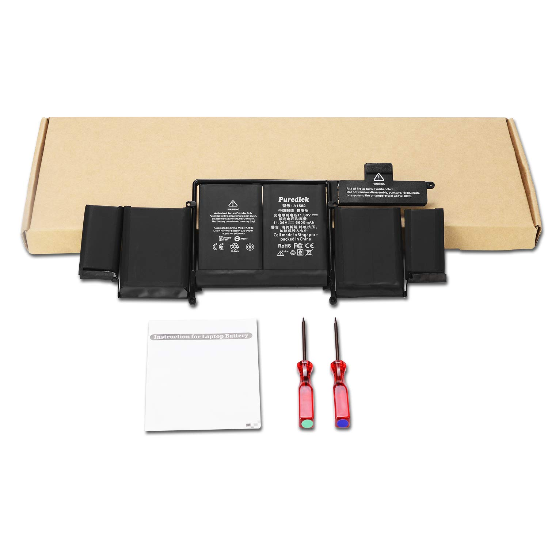 Bateria A1582 para 2015 MacBook Pro 13 Retina A1502 ME864 ME865 MF839 MF840 MF841