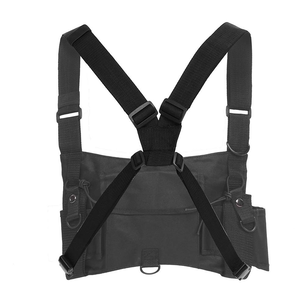 ZRDY Multi-Function Tactic Radio Pocket Chest Rig Arnés Chaleco ...