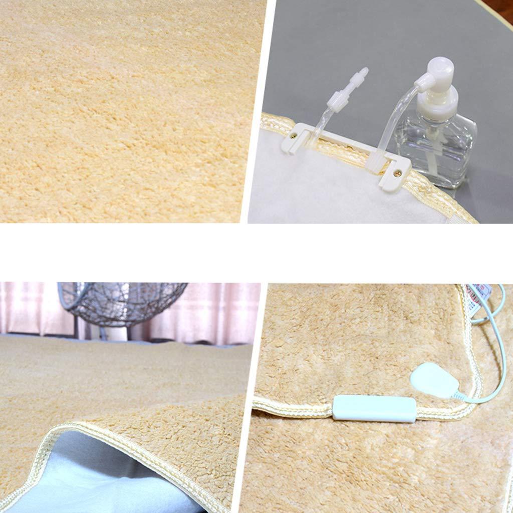 R&Y Mantas eléctricas,Manta eléctrica, Individual, Felpa, Segura e Impermeable, Manta de plomería,B_ 150 * 70cm: Amazon.es: Hogar