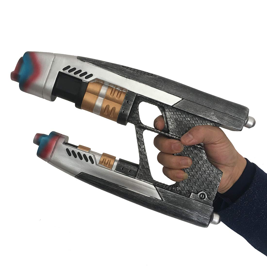 Yacn Star Lord Gun Blaster Cosplay Replica for Guardians of The Galaxy Peter Quill Gun Weapon (one Pair)