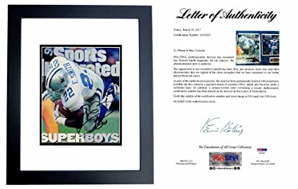 aa85f3c32 Emmittt Smith Signed - Autographed Dallas Cowboys Sports Illustrated ...