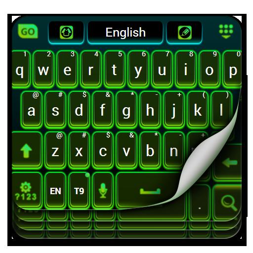 Color Keyboard Neon Green Free