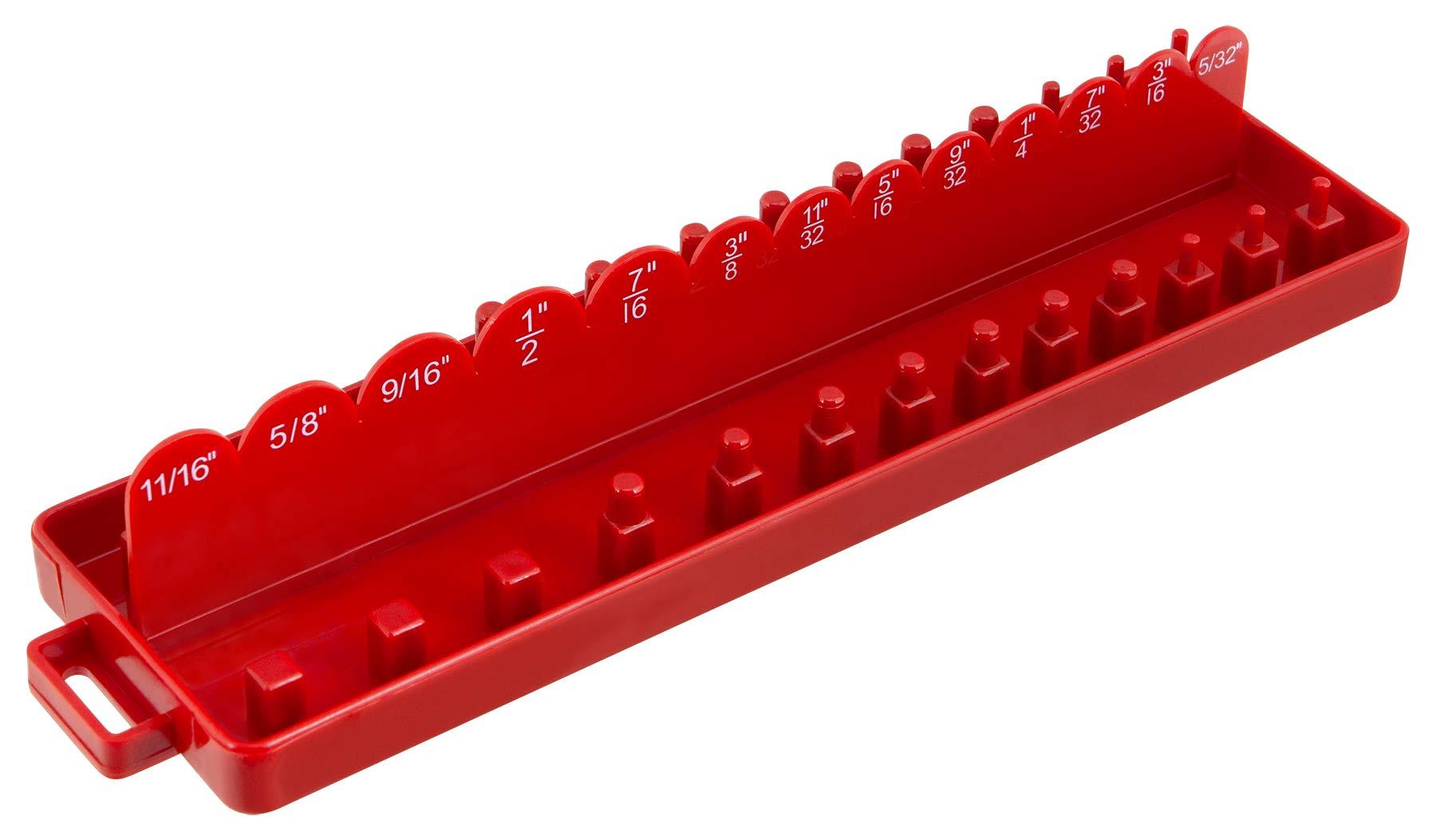 Performance Tool W773 Drive Socket Tray Holder, 1/4''