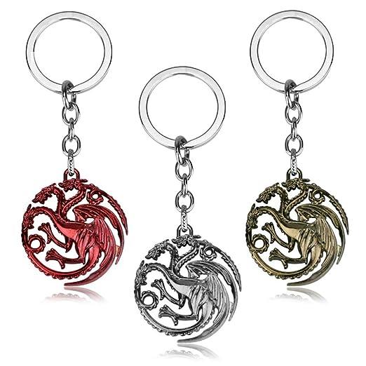 Chutoral Targaryen - Llavero con Colgante para decoración de ...