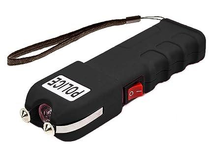 POLICE 928 - 58 Billion Heavy Duty Stun Gun - Rechargeable with LED  Flashlight