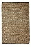 Cheap Fab Habitat Allaire Charcoal Jute/Cotton Indoor Rug (4 ft 4 in x 6 ft)