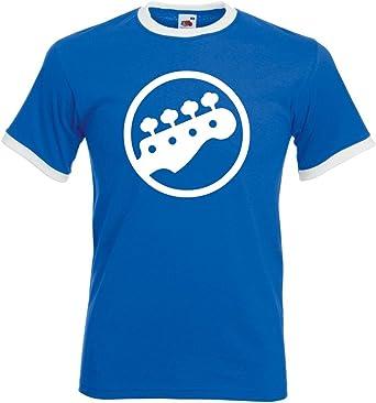 Camiseta con cabezal de bajo, guitarra: Amazon.es: Ropa y accesorios