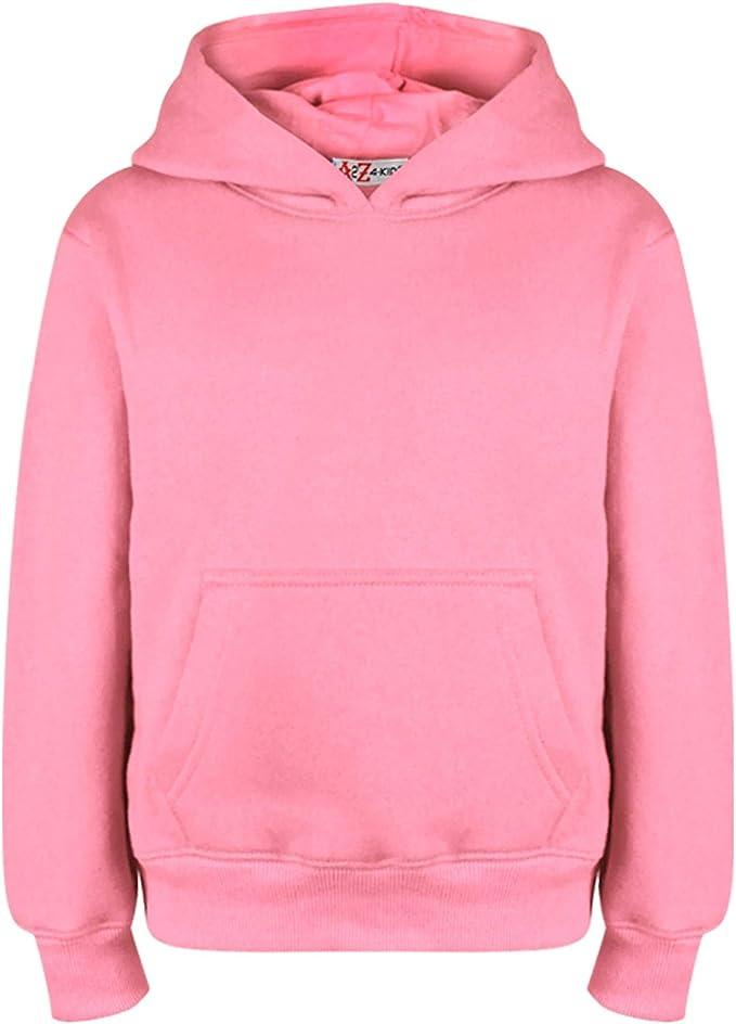 Kids Boys Girls Print Hoodie Hooded Sweatshirt Pullover Jumper Long Sleeve Tops