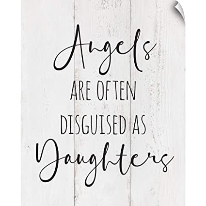 Amazon.com: CANVAS ON DEMAND Family Quotes - Daughters Wall ...