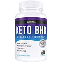Nutriana Keto Pills - Ketogenic Keto Pills for Women and Men - Keto Supplement BHB...