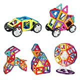 INTEY 66-Piece Magnetic Building Blocks for Imagination Creativity Logical ...