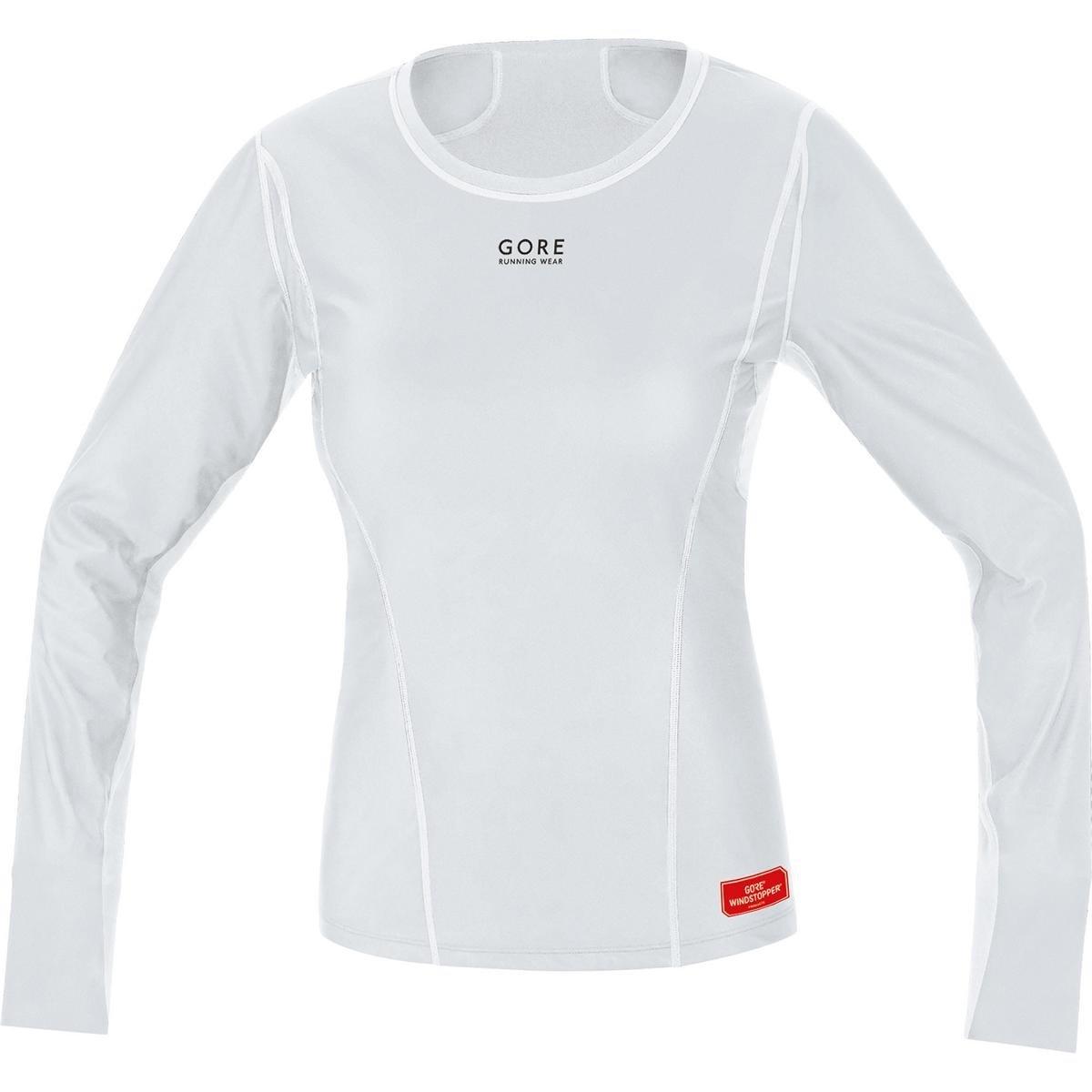 GORE WEAR Damen Kurzarm Essential Base Layer Windstopper Thermo Shirt