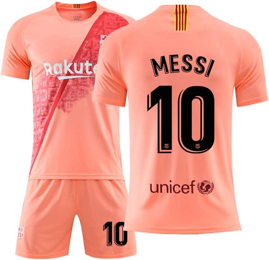 Camiseta de fútbol Lionel Messi Barça # 10 Tallas Disponibles: Copa del Mundo de Fútbol para Hombre – Regalo Premium (10, Lionel Messi) Tallas: XS, M, L, XL, XXL, XXXL, 1, XS: