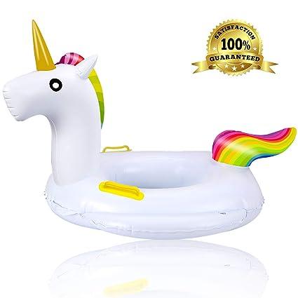 Amazon.com: LcLand Flotador de piscina para bebé, inflable ...
