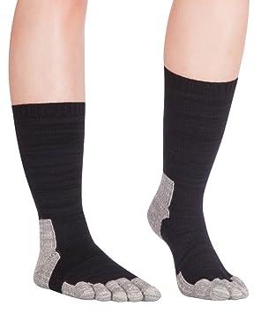 Knitido Hiking TS - Calcetines con Dedos Senderismo, Fibras dralon®: Amazon.es: Deportes y aire libre