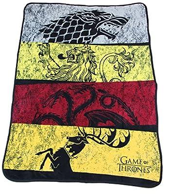"Rabbit Tanaka Game of Thrones Soft Fleece Throw Blanket 46"" x 60"""