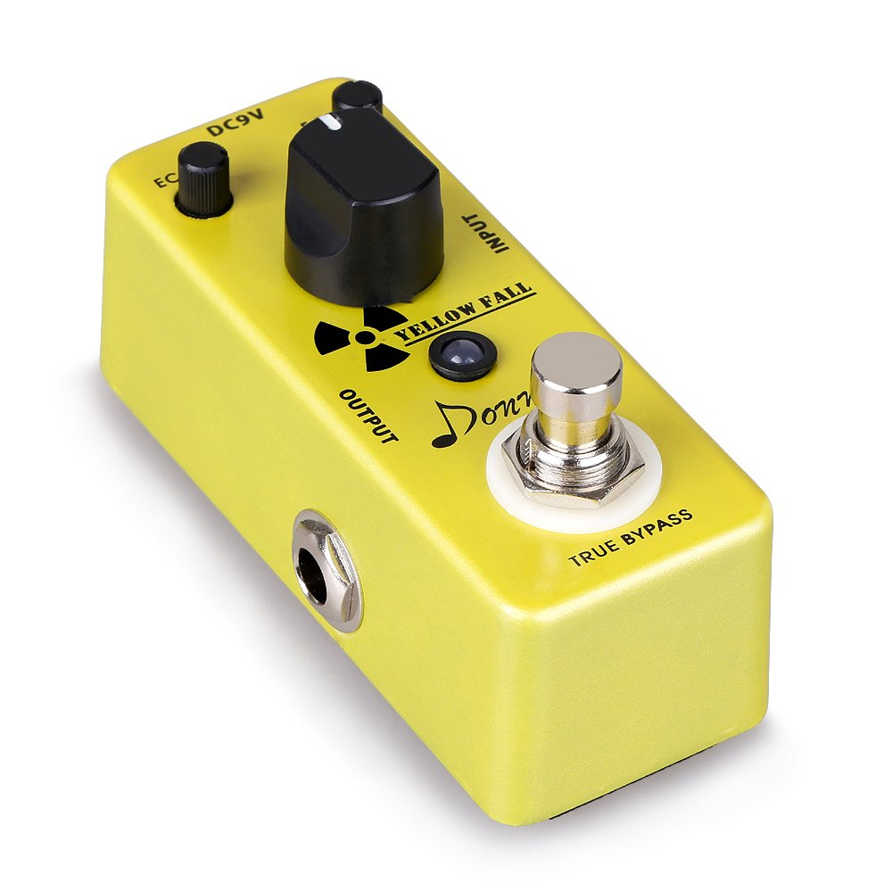 Donner Yellow Fall Delay Guitar Pedal Review in 2020 1